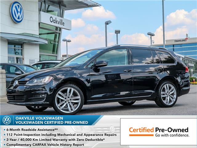 2016 Volkswagen Golf Sportwagon 1.8 TSI Highline (Stk: 10035V) in Oakville - Image 1 of 23