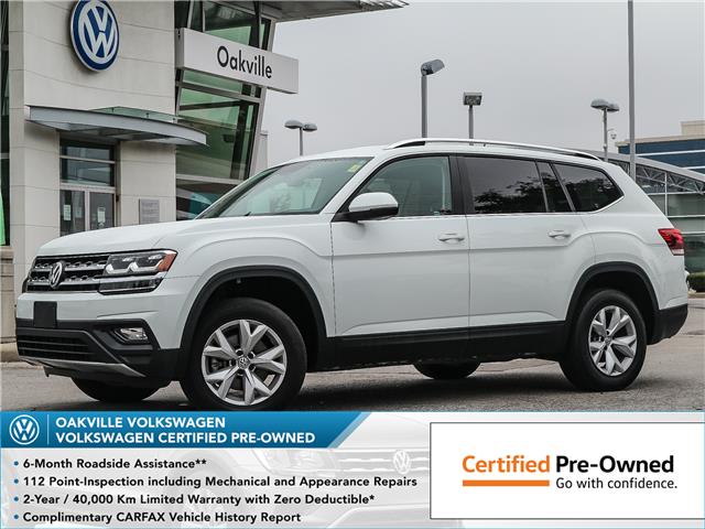 2018 Volkswagen Atlas 3.6 FSI Comfortline (Stk: 10069V) in Oakville - Image 1 of 22