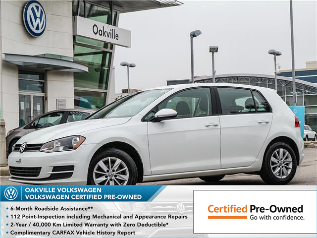 2016 Volkswagen Golf 1.8 TSI Trendline (Stk: 10046V) in Oakville - Image 1 of 20