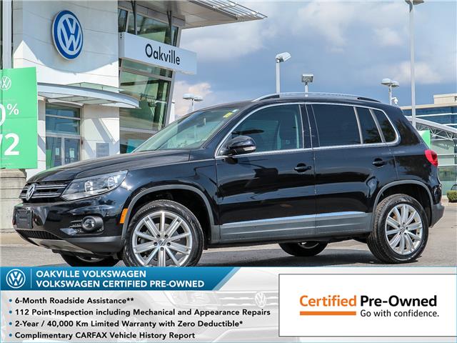2017 Volkswagen Tiguan Comfortline (Stk: 10091V) in Oakville - Image 1 of 20