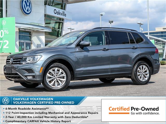 2018 Volkswagen Tiguan Trendline (Stk: 10099V) in Oakville - Image 1 of 21