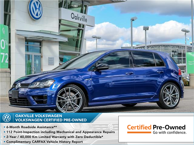 2017 Volkswagen Golf R 2.0 TSI (Stk: 8081V) in Oakville - Image 1 of 27