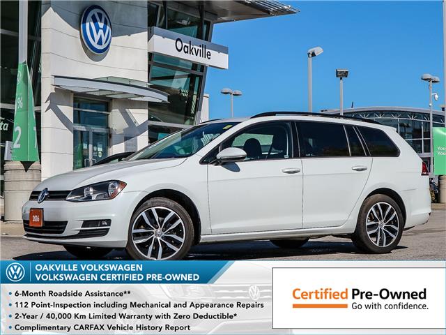 2016 Volkswagen Golf Sportwagon 1.8 TSI Comfortline (Stk: 9081V) in Oakville - Image 1 of 20