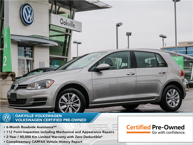 2017 Volkswagen Golf 1.8 TSI Trendline (Stk: 10138V) in Oakville - Image 1 of 20