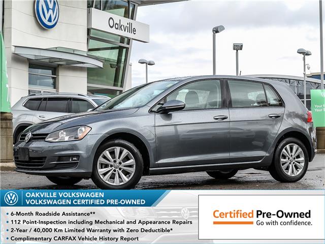 2017 Volkswagen Golf 1.8 TSI Comfortline (Stk: 10146V) in Oakville - Image 1 of 21