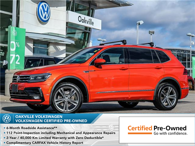 2018 Volkswagen Tiguan Highline (Stk: 10172V) in Oakville - Image 1 of 23