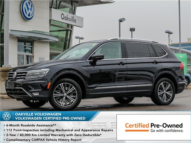 2018 Volkswagen Tiguan Highline (Stk: 10199V) in Oakville - Image 1 of 23