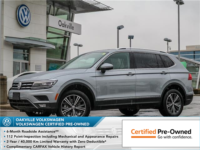 2019 Volkswagen Tiguan Highline (Stk: 21487D) in Oakville - Image 1 of 27