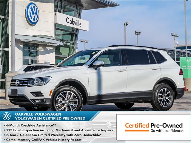 2019 Volkswagen Tiguan Comfortline (Stk: 10213V) in Oakville - Image 1 of 22
