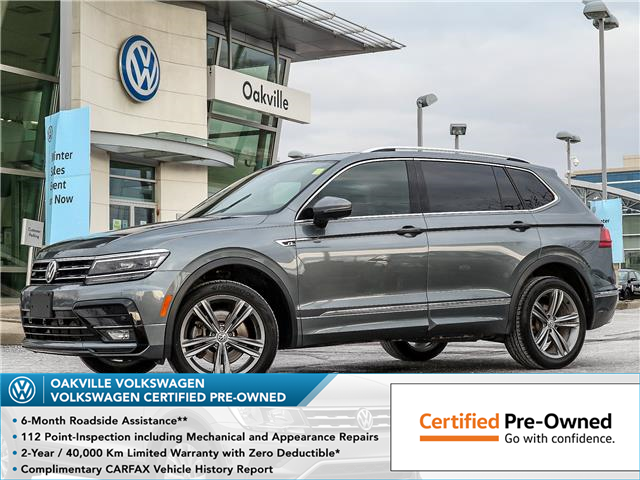 2018 Volkswagen Tiguan Highline (Stk: 10242V) in Oakville - Image 1 of 23