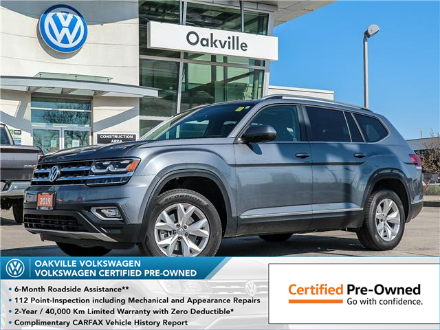 2019 Volkswagen Atlas 3.6 FSI Highline (Stk: 10397V) in Oakville - Image 1 of 22