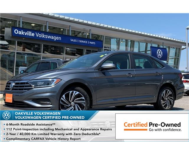 2019 Volkswagen Jetta 1.4 TSI Execline (Stk: 10488V) in Oakville - Image 1 of 12