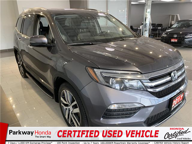 2017 Honda Pilot Touring (Stk: 16184A) in North York - Image 1 of 21