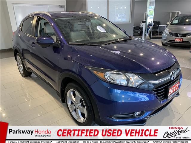 2017 Honda HR-V EX-L (Stk: 921049A) in North York - Image 1 of 20