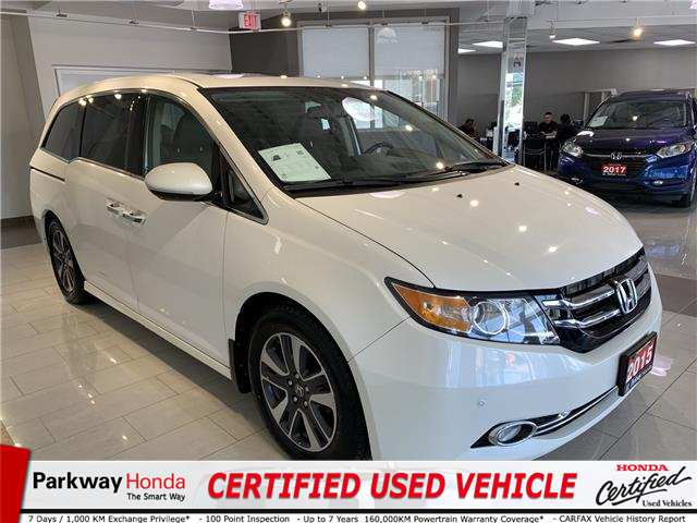 2015 Honda Odyssey Touring (Stk: 16330A) in North York - Image 1 of 27