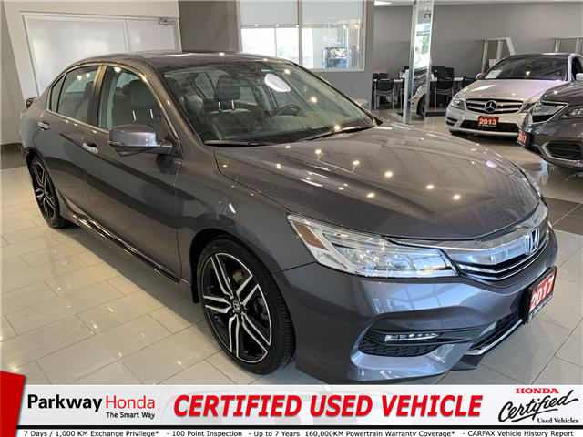 2017 Honda Accord Touring (Stk: 16375A) in North York - Image 1 of 26