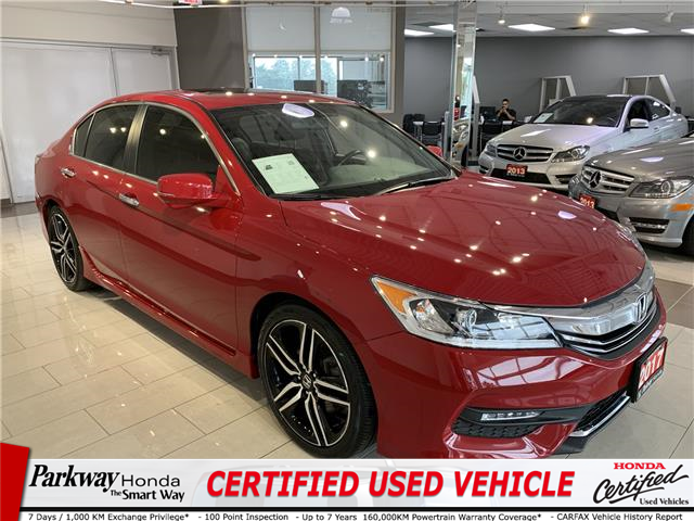 2017 Honda Accord Sport (Stk: 16381A) in North York - Image 1 of 24