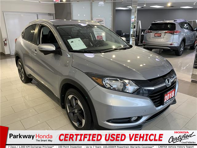 2018 Honda HR-V EX-L (Stk: 16598A) in North York - Image 1 of 24