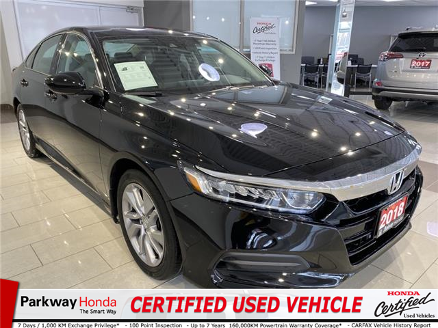 2018 Honda Accord LX (Stk: 16621A) in North York - Image 1 of 18