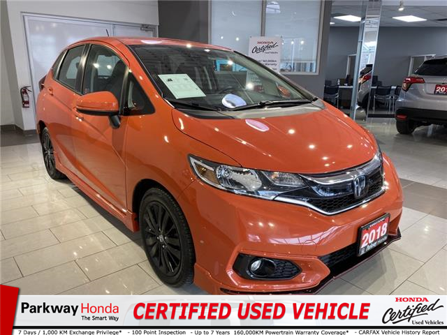 2018 Honda Fit Sport (Stk: 16696A) in North York - Image 1 of 17