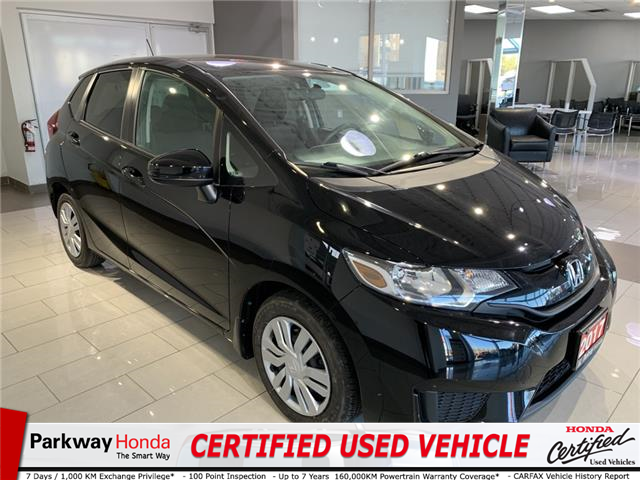 2017 Honda Fit LX (Stk: 16996A) in North York - Image 1 of 19