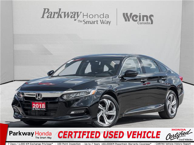 2018 Honda Accord EX-L (Stk: 23T10092A) in North York - Image 1 of 25