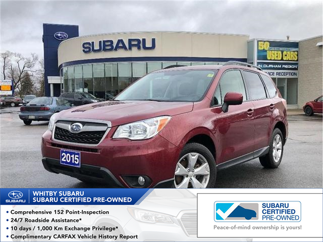 Subaru Certified Pre-Owned >> Used Subaru For Sale In Whitby Whitby Subaru