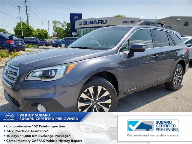 2016 Subaru Outback 2.5i Limited Package (Stk: 19S763A) in Whitby - Image 1 of 26