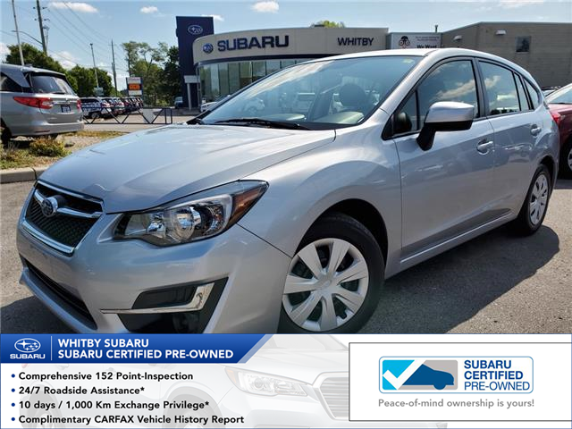 2016 Subaru Impreza 2.0i (Stk: 19S895A) in Whitby - Image 1 of 25