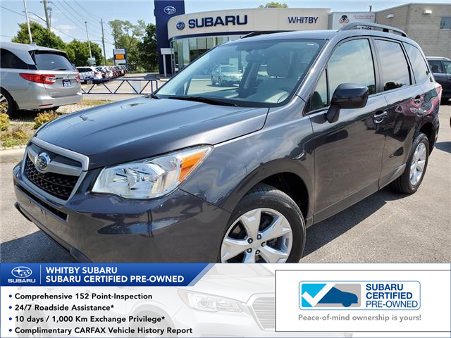 2015 Subaru Forester 2.5i Convenience Package (Stk: U3620LD) in Whitby - Image 1 of 26