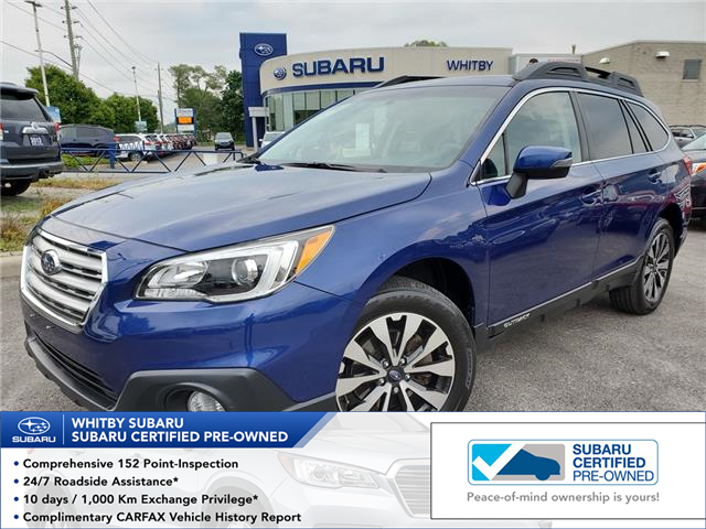 2016 Subaru Outback 3.6R Limited Package (Stk: 19S1042A) in Whitby - Image 1 of 27