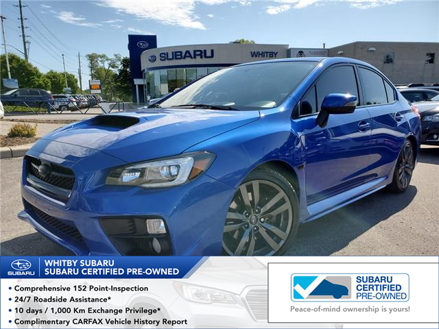 2016 Subaru WRX Sport-tech Package (Stk: U3673LD) in Whitby - Image 1 of 27