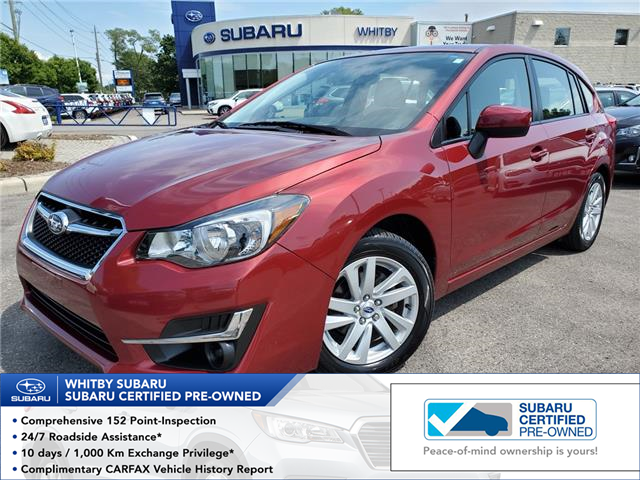 2016 Subaru Impreza 2.0i Touring Package (Stk: 19S1199A) in Whitby - Image 1 of 25