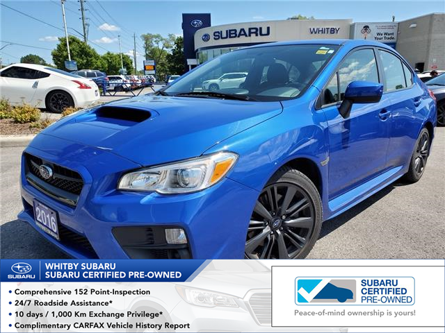 2016 Subaru WRX Base (Stk: U3691LD) in Whitby - Image 1 of 24