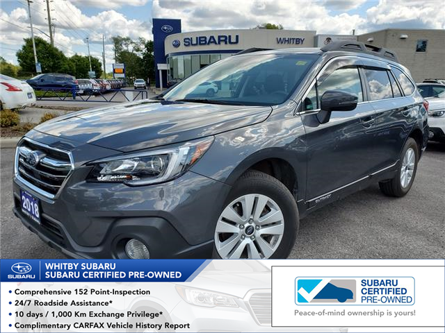 2018 Subaru Outback 2.5i Touring (Stk: 19S1208A) in Whitby - Image 1 of 24