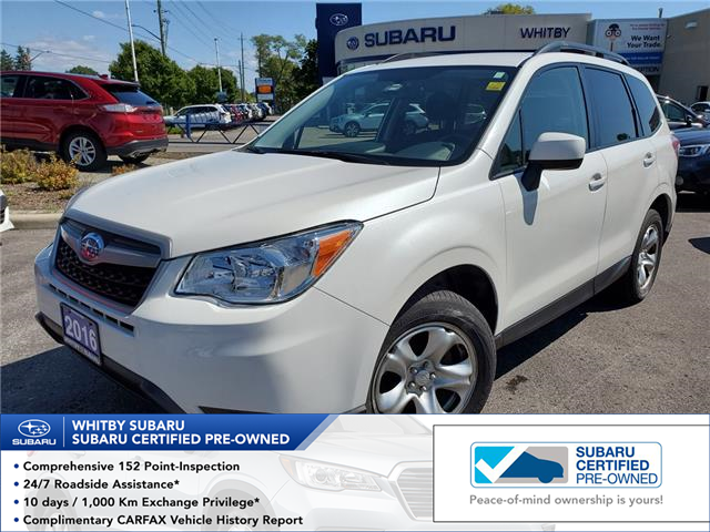 2016 Subaru Forester 2.5i (Stk: U3704LD) in Whitby - Image 1 of 8