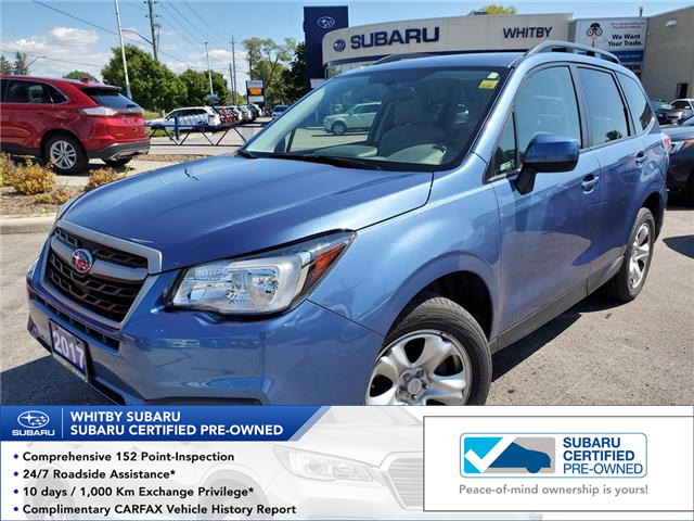 2017 Subaru Forester 2.5i (Stk: 19S1205A) in Whitby - Image 1 of 7