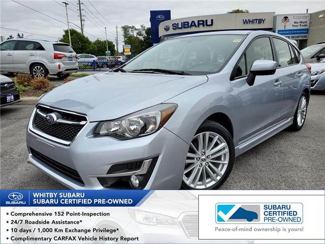 2015 Subaru Impreza 2.0i Sport Package (Stk: 19S1142A) in Whitby - Image 1 of 24