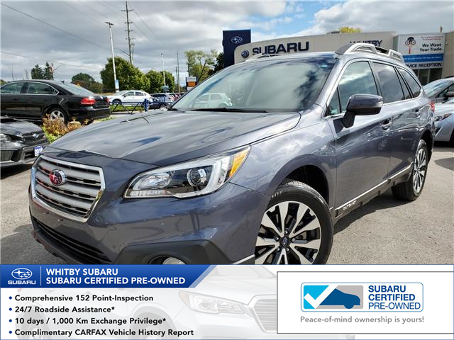 2017 Subaru Outback 3.6R Limited (Stk: 19S1108A) in Whitby - Image 1 of 27