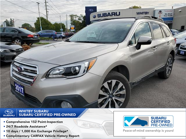 2017 Subaru Outback 2.5i Limited (Stk: 19S912A) in Whitby - Image 1 of 24