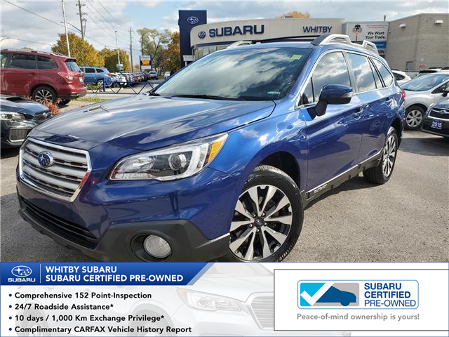 2017 Subaru Outback 2.5i Limited (Stk: 19S1294A) in Whitby - Image 1 of 27