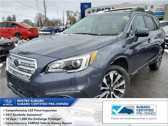 2017 Subaru Outback 2.5i Limited (Stk: 20S68A) in Whitby - Image 1 of 25