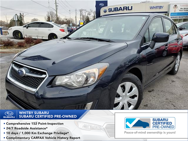 2015 Subaru Impreza 2.0i (Stk: 19S1356A) in Whitby - Image 1 of 25