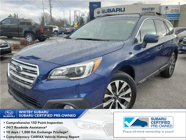 2017 Subaru Outback 2.5i Limited (Stk: 20S161A) in Whitby - Image 1 of 26