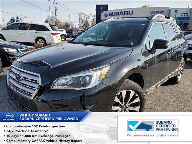 2017 Subaru Outback 2.5i Limited (Stk: 20S232A) in Whitby - Image 1 of 25