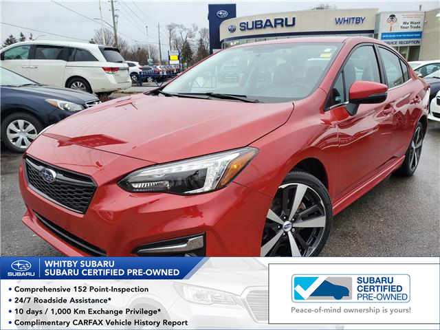 2017 Subaru Impreza Sport-tech (Stk: 20S343A) in Whitby - Image 1 of 28