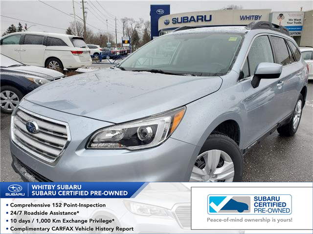 2016 Subaru Outback 2.5i (Stk: 20S277A) in Whitby - Image 1 of 23