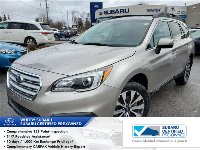 2015 Subaru Outback 2.5i Limited Package (Stk: 20S373A) in Whitby - Image 1 of 26