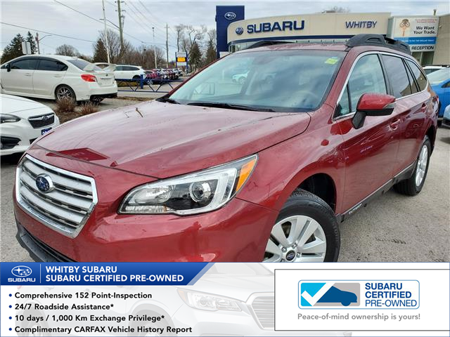 2017 Subaru Outback 2.5i Touring (Stk: 20S447A) in Whitby - Image 1 of 24