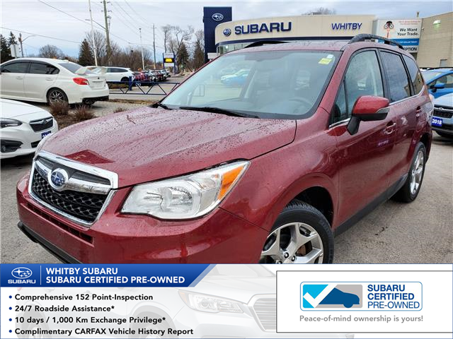 2015 Subaru Forester 2.5i Limited Package (Stk: 20S338A) in Whitby - Image 1 of 26